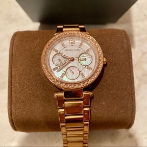 Michael Kors Rose Gold/Mother of Pearl Watch